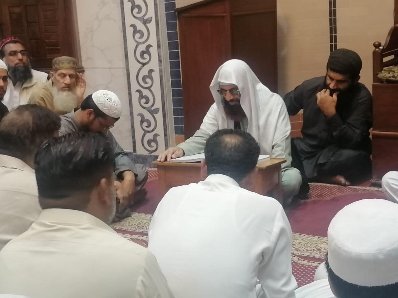 نکاح سنت نبوی ﷺ ہے اور مسجد میں نکاح مزید خیر و برکت کا باعث بن جاتاہے( مولانا حماد الزھراوی )